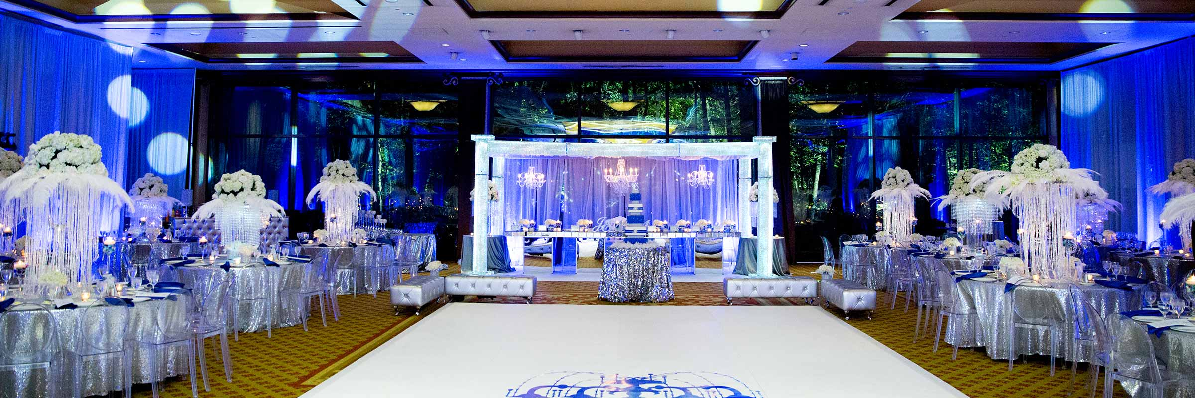 Elegant Custom Sweet Sixteen Birthday Party Event