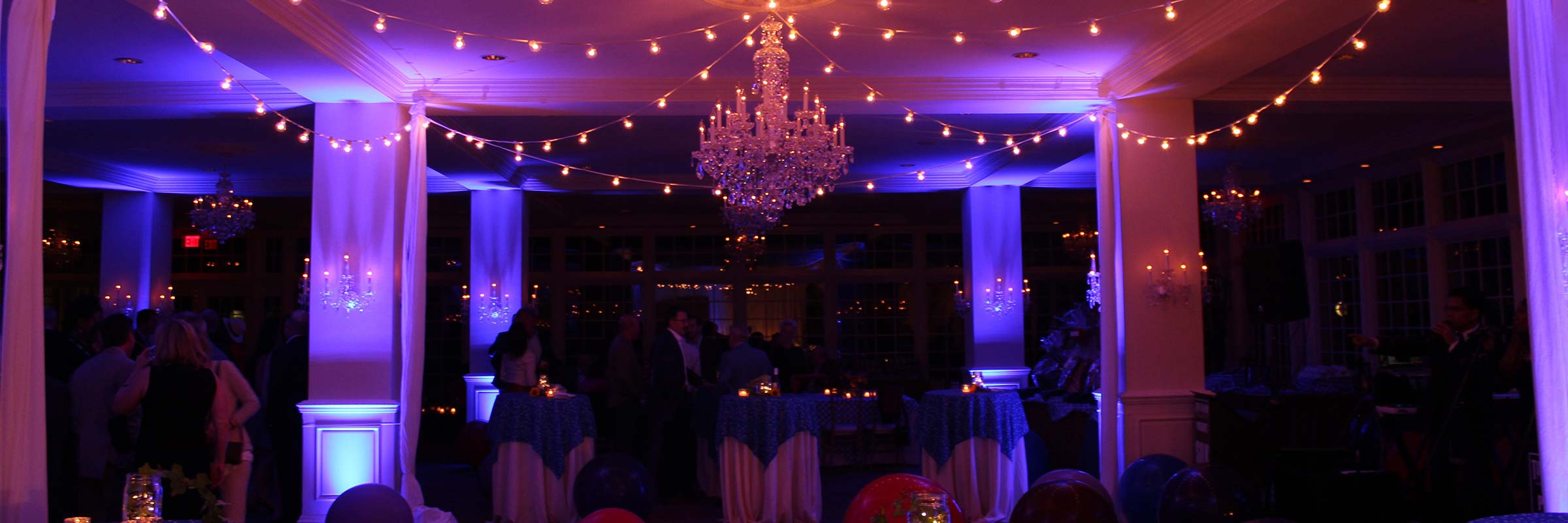 Elegant Event Decor Lighting