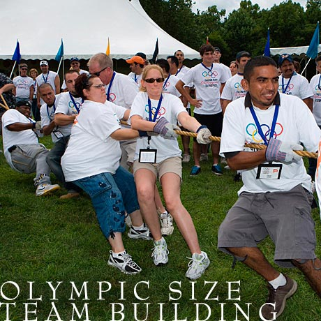 Olympic Size Team Building