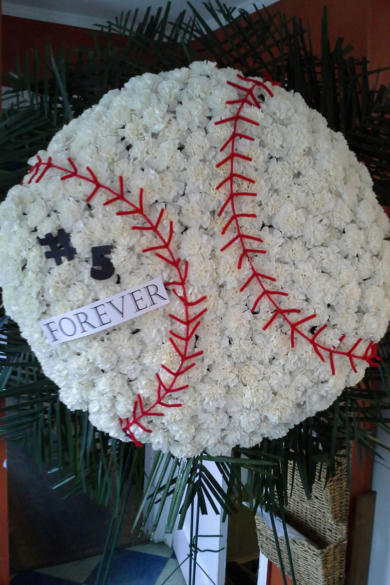 baseball-memorial-fresh-flowers