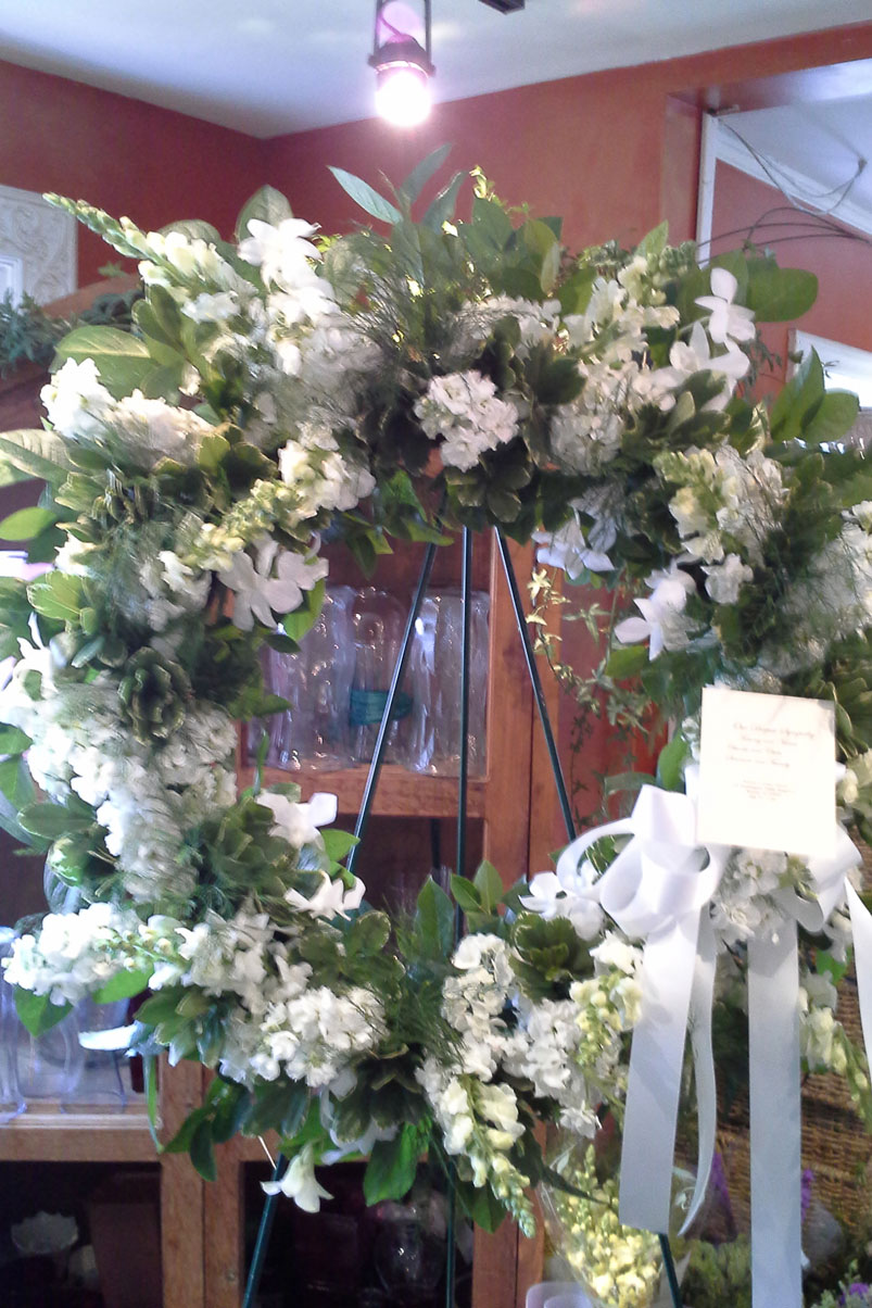 beautiful-memorial-wreath-white-flowers-greenery