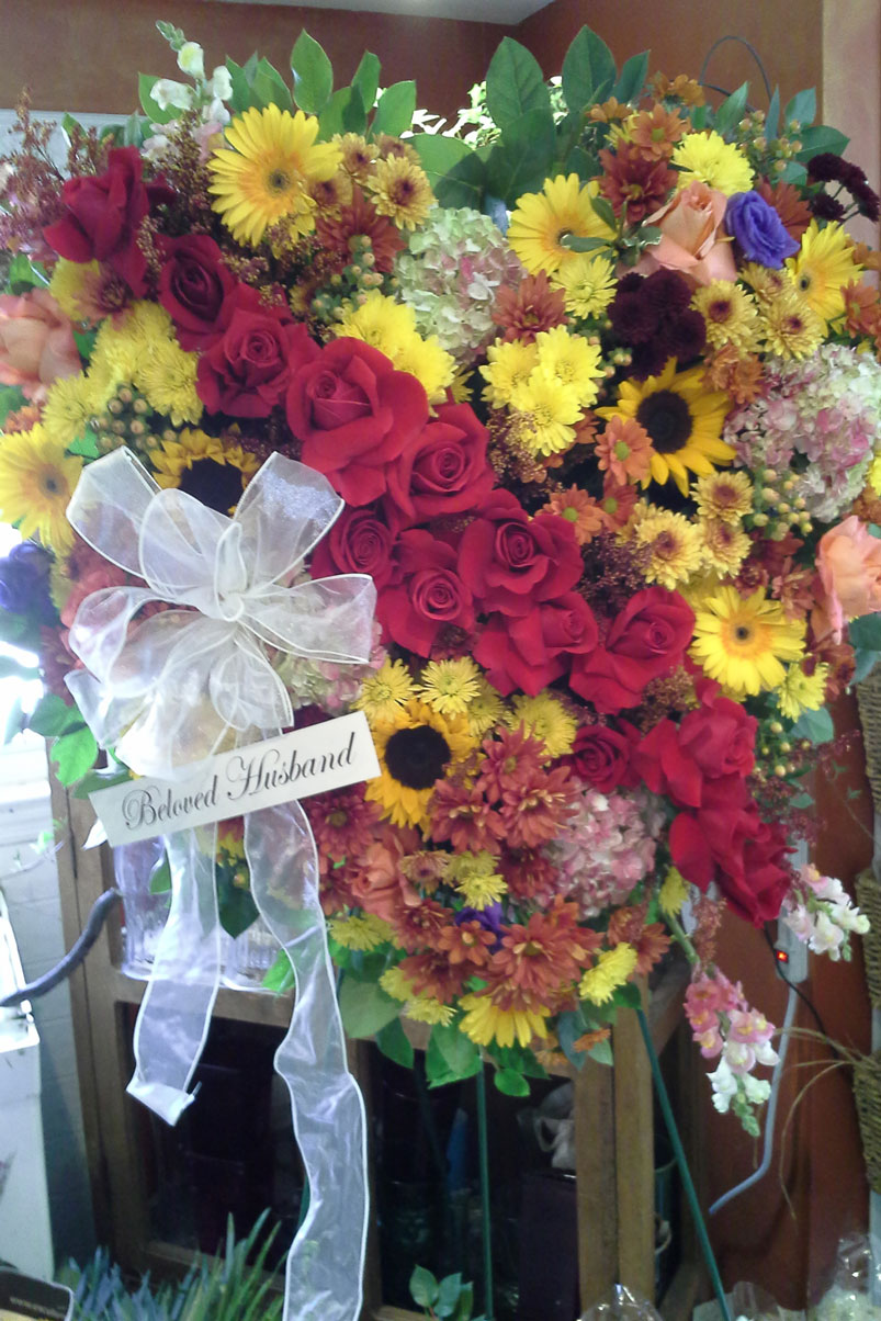 beloved-husband-bright-yellow-daisies-sun-flower-red-roses-carnations