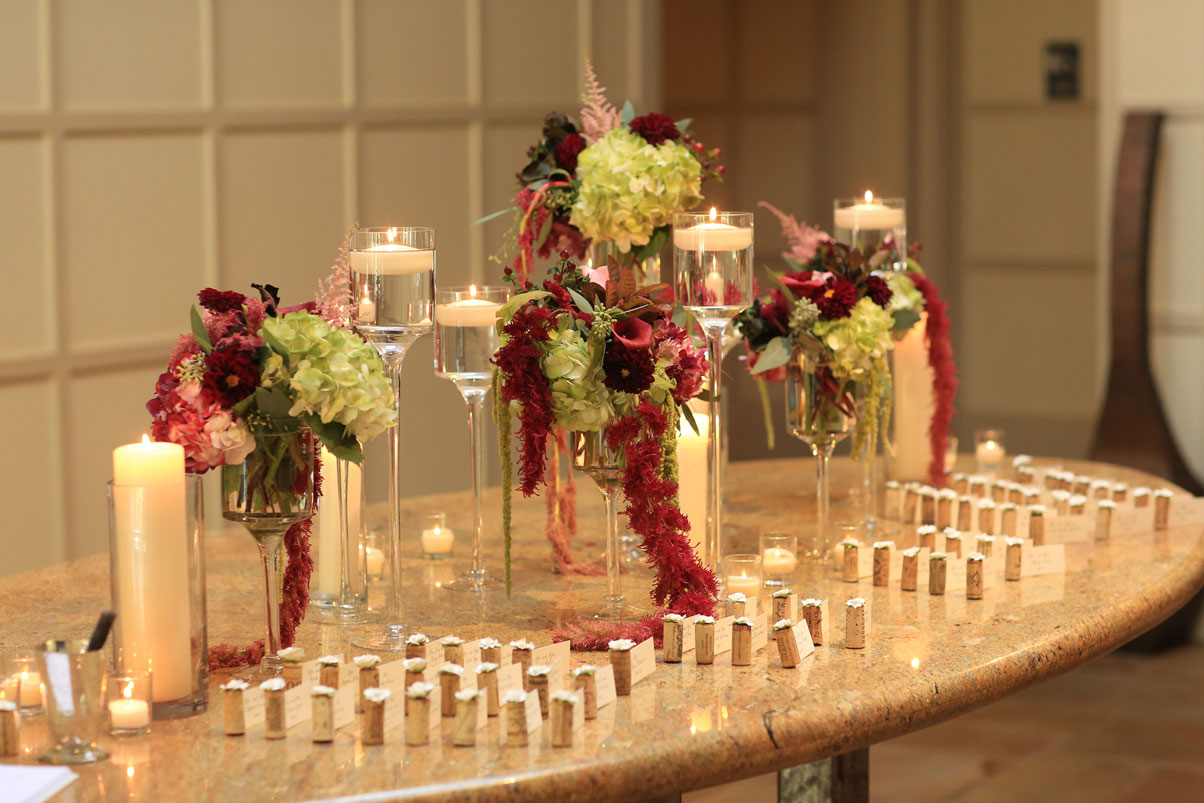 name-card-table-candles-flowers